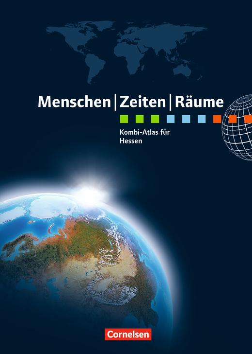 Menschen-Zeiten-Räume - Kombi-Atlas für Hessen mit Arbeitsheft