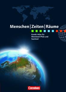 Menschen-Zeiten-Räume - Kombi-Atlas für Rheinland-Pfalz und Saarland mit Arbeitsheft