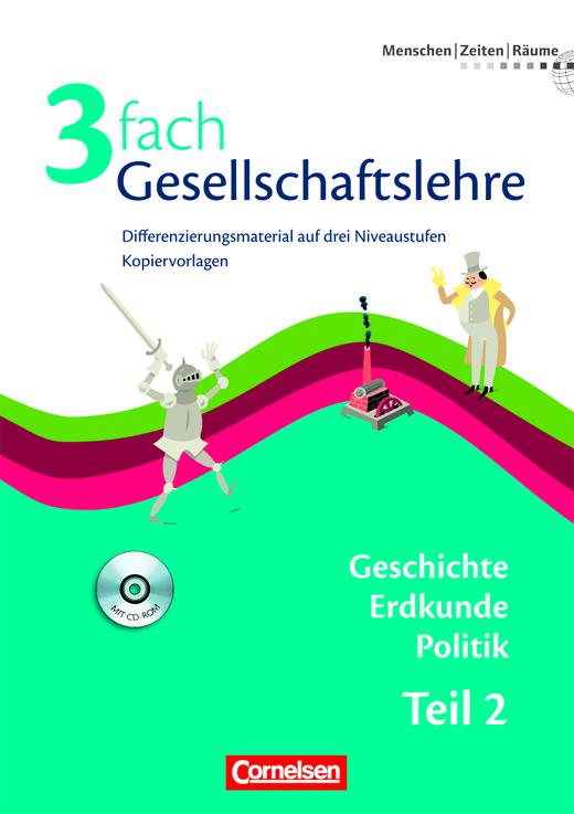 Menschen-Zeiten-Räume - Kopiervorlagen mit CD-ROM - 7./8. Schuljahr