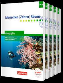 Menschen-Zeiten-Räume - Geographie Differenzierende Ausgabe Baden-Württemberg 2016