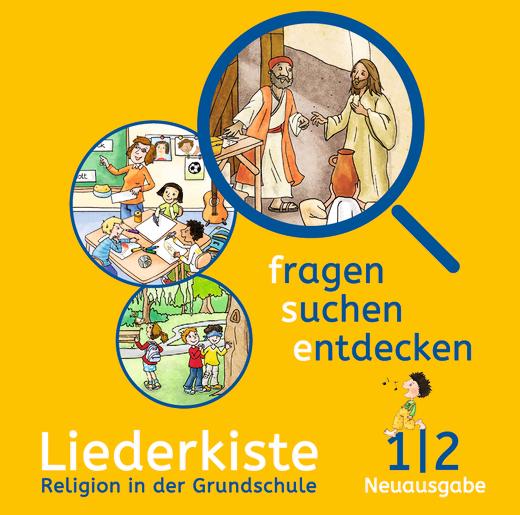 Fragen-suchen-entdecken - Liederkiste - Audio-CD - Band 1/2