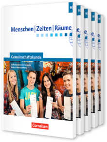 Menschen-Zeiten-Räume - Gemeinschaftskunde Differenzierende Ausgabe Baden-Württemberg 2016