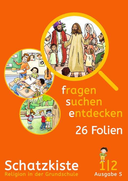 Fragen-suchen-entdecken - Schatzkiste - Folienmappe - Band 1/2