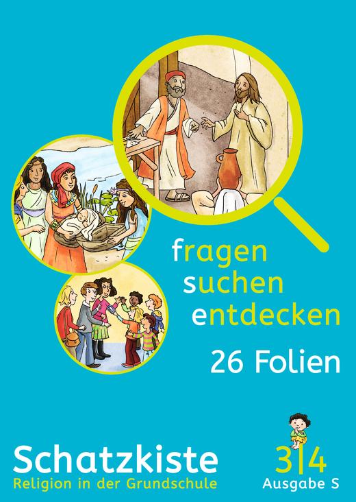 Fragen-suchen-entdecken - Schatzkiste - Folienmappe - Band 3/4