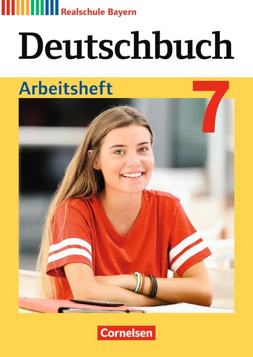 Deutschbuch - Arbeitsheft mit Lösungen - 7. Jahrgangsstufe