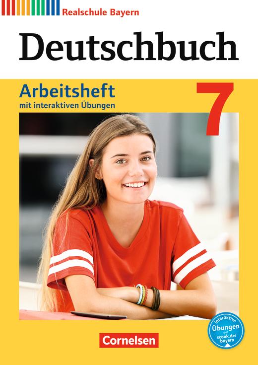 Deutschbuch - Arbeitsheft mit interaktiven Übungen auf scook.de - 7. Jahrgangsstufe