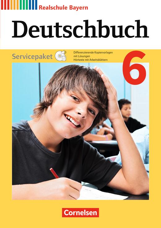Deutschbuch - Servicepaket mit CD-ROM - 6. Jahrgangsstufe