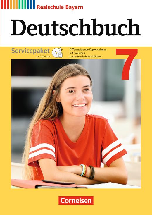 Deutschbuch - Servicepaket mit CD-ROM - 7. Jahrgangsstufe