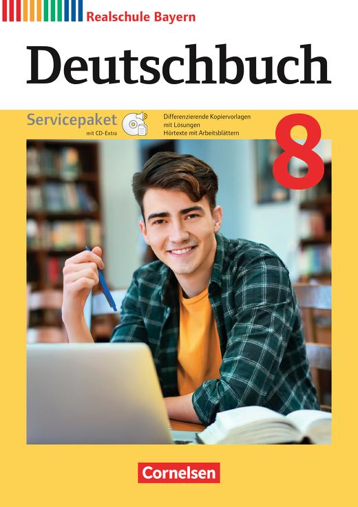 Deutschbuch - Servicepaket mit CD-ROM - 8. Jahrgangsstufe