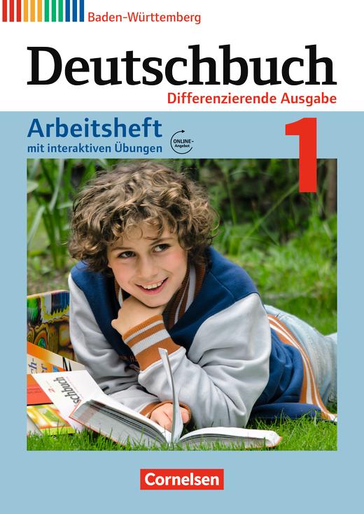 Deutschbuch - Arbeitsheft mit interaktiven Übungen auf scook.de - Band 1: 5. Schuljahr
