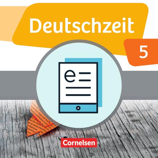Deutschzeit - Schülerbuch als E-Book - 5. Schuljahr