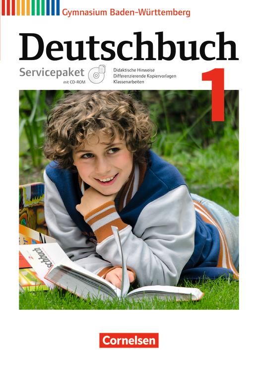 deutschbuch gymnasium servicepaket mit cd rom band 1 5 schuljahr cornelsen. Black Bedroom Furniture Sets. Home Design Ideas