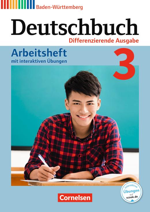 Deutschbuch - Arbeitsheft mit interaktiven Übungen auf scook.de - Band 3: 7. Schuljahr