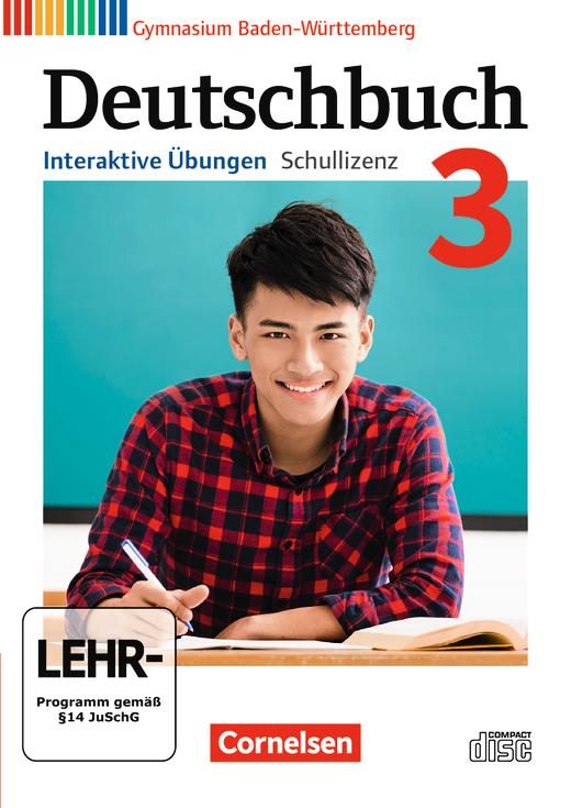 Deutschbuch Gymnasium - Interaktive Übungen als Ergänzung zum Arbeitsheft - Band 3: 7. Schuljahr