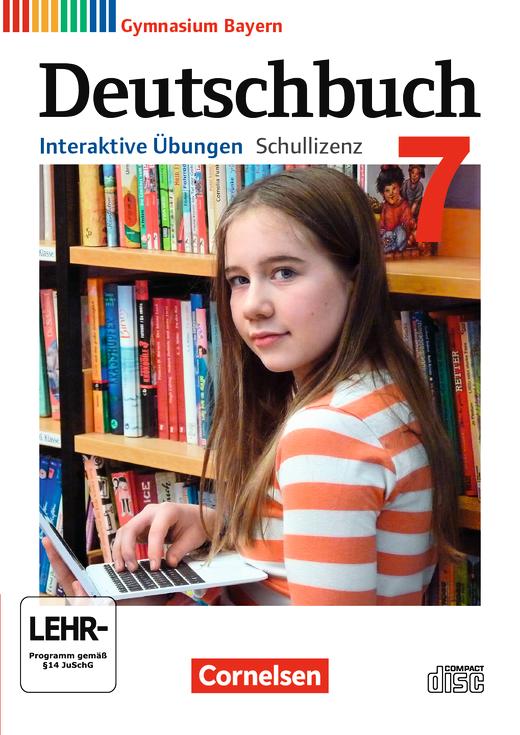 Deutschbuch Gymnasium - Interaktive Übungen als Ergänzung zum Arbeitsheft - 7. Jahrgangsstufe