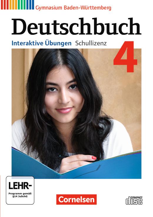Deutschbuch Gymnasium - Interaktive Übungen als Ergänzung zum Arbeitsheft - Band 4: 8. Schuljahr
