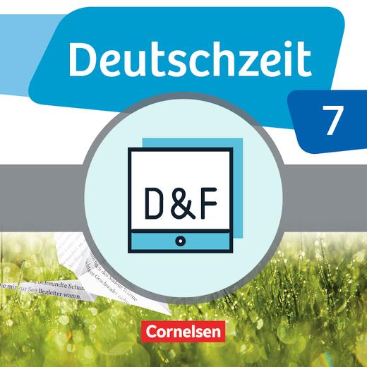 Deutschzeit - Diagnose und Fördern online - 7. Schuljahr