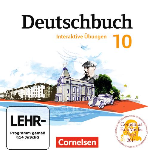 Deutschbuch Gymnasium - Übungs-CD-ROM zum Arbeitsheft - 10. Schuljahr