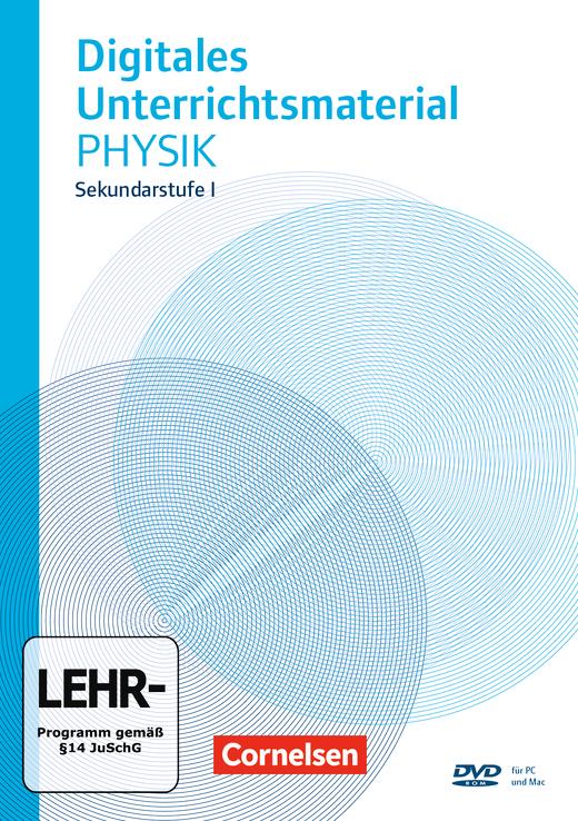 Physik Software - Digitales Unterrichtsmaterial auf DVD-ROM - 6.-10. Schuljahr