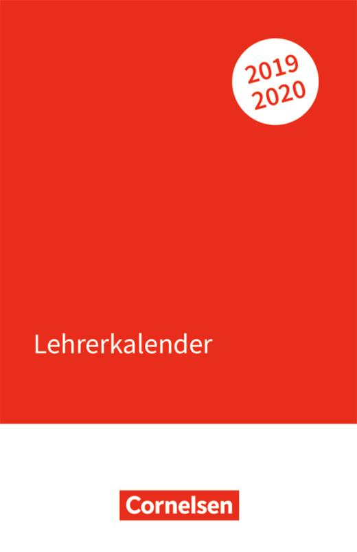 Lehrerkalender - Kalender im Taschenformat (11 cm x 17 cm)