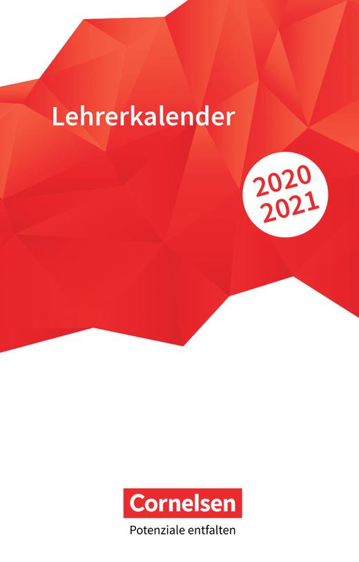 Lehrerkalender - Lehrerkalender 2020/21 - Taschenformat (11 cm x 17 cm)