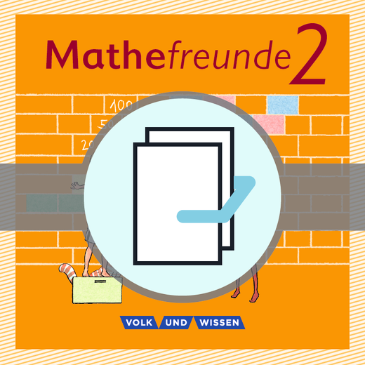 Mathefreunde - Hundertertafel - Kartonbeilagen - 2. Schuljahr