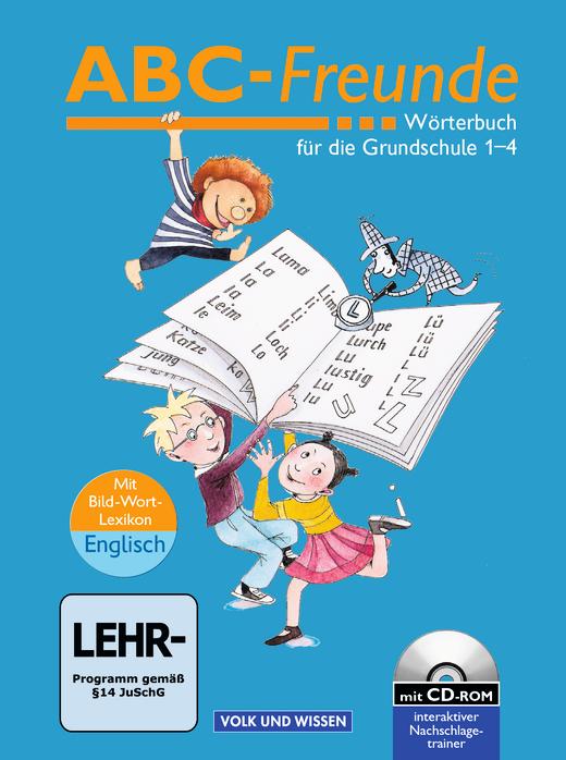 ABC-Freunde - Wörterbuch mit Bild-Wort-Lexikon Englisch und CD-ROM