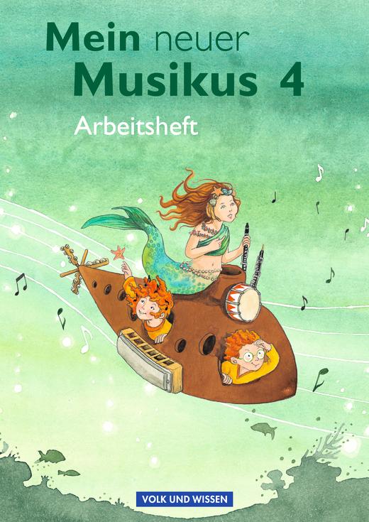 Mein neuer Musikus - Arbeitsheft - 4. Schuljahr