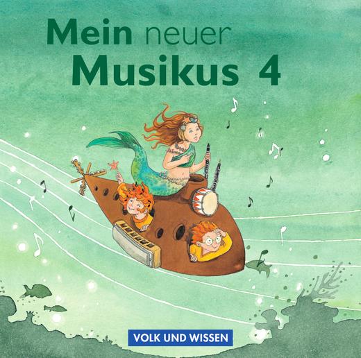 Mein neuer Musikus - CD 1-2 - 4. Schuljahr