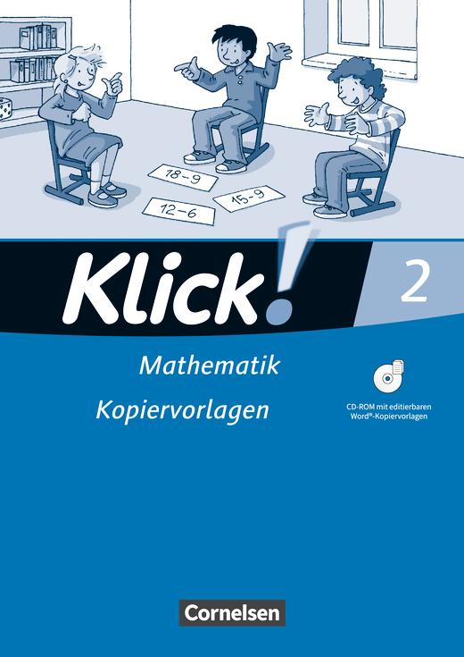Klick! Mathematik - Unterstufe - Kopiervorlagen mit CD-ROM - 2. Schuljahr