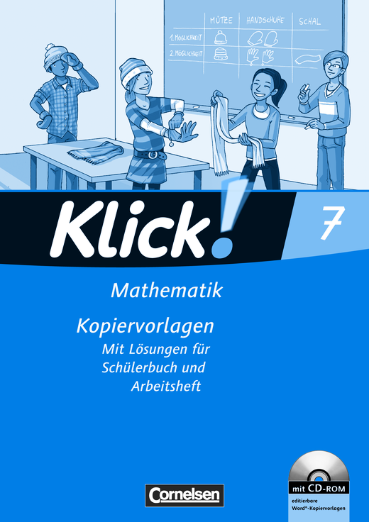 Klick! Mathematik - Mittel-/Oberstufe - Kopiervorlagen mit CD-ROM - 7. Schuljahr