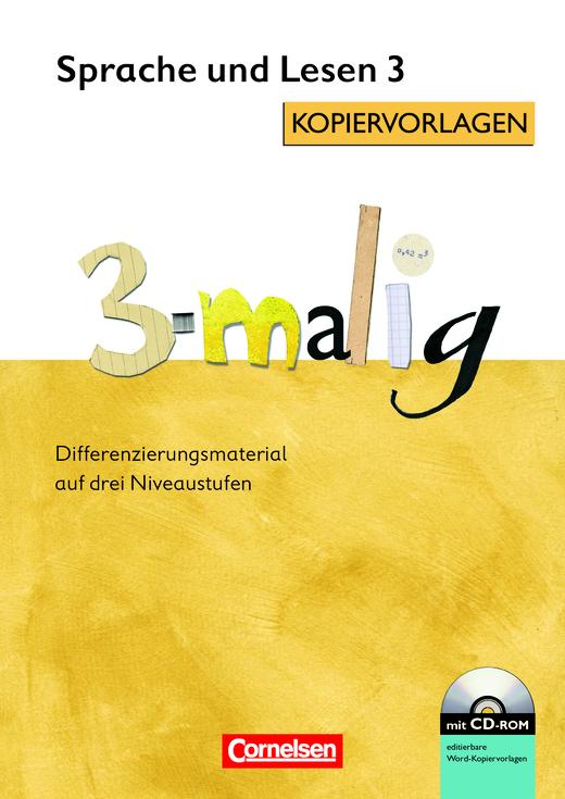 3-malig - Kopiervorlagen mit CD-ROM - 3. Schuljahr