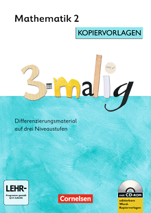 3-malig - Kopiervorlagen mit CD-ROM - 2. Schuljahr
