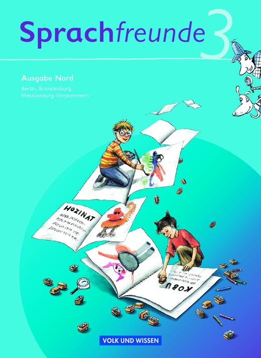 Sprachfreunde - Sprachbuch - 3. Schuljahr