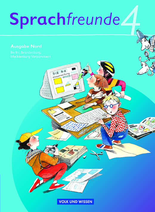 Sprachfreunde - Sprachbuch - 4. Schuljahr
