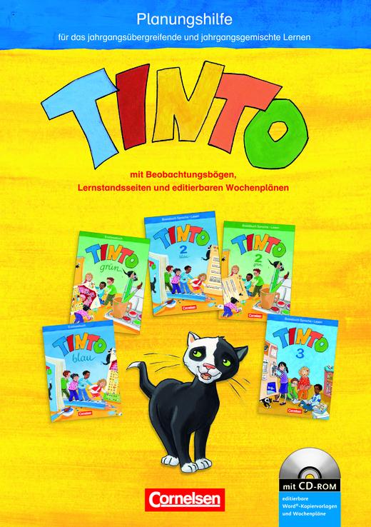 Tinto 1 - Planungshilfe mit Kopiervorlagen - 1./2. Schuljahr