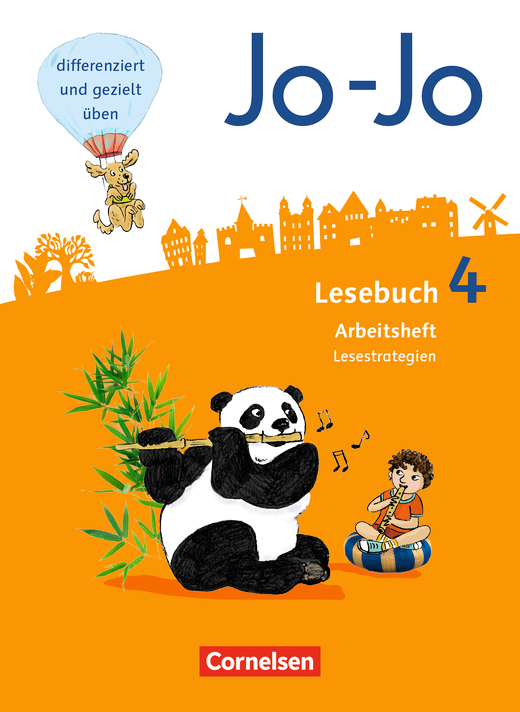 Jo-Jo Lesebuch - Arbeitsheft Lesestrategien - 4. Schuljahr