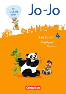 Jo-Jo Lesebuch - Arbeitsheft Fördern - 4. Schuljahr