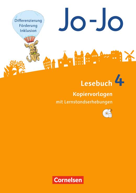 Jo-Jo Lesebuch - Kopiervorlagen mit CD-ROM - 4. Schuljahr