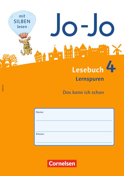 Jo-Jo Lesebuch - Lernspurenheft - 4. Schuljahr