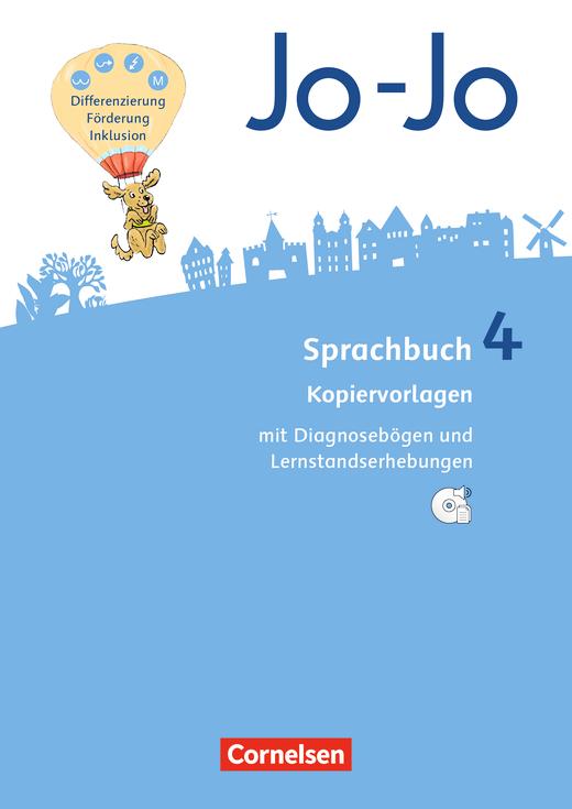Jo-Jo Sprachbuch - Kopiervorlagen mit CD-ROM - 4. Schuljahr