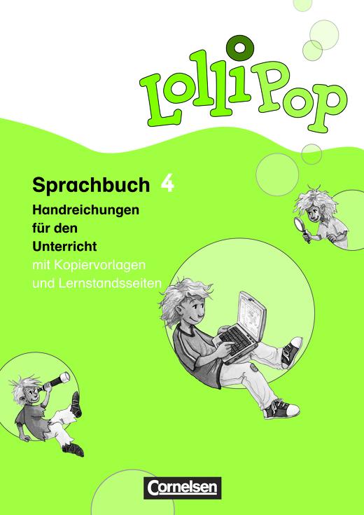 Lollipop Sprachbuch - Handreichungen für den Unterricht - 4. Schuljahr