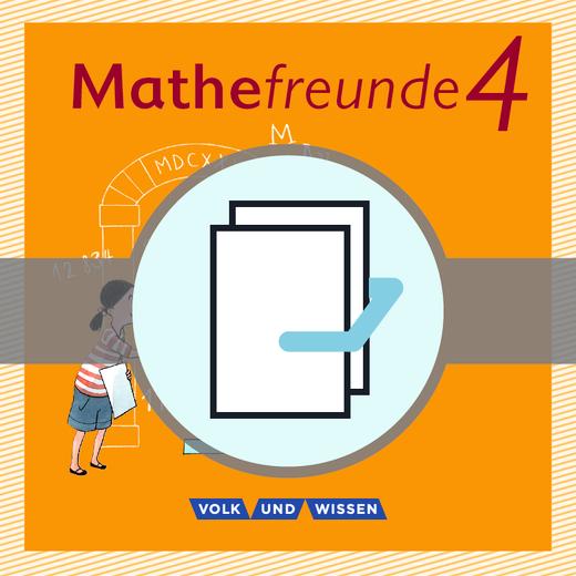 Mathefreunde - Beilagen im 5er-Pack - 4. Schuljahr