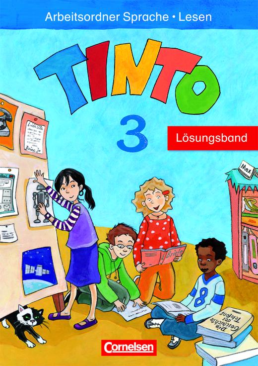 Tinto Sprachlesebuch 2-4 - Lösungsband zum Arbeitsordner Sprache und Lesen - 3. Schuljahr