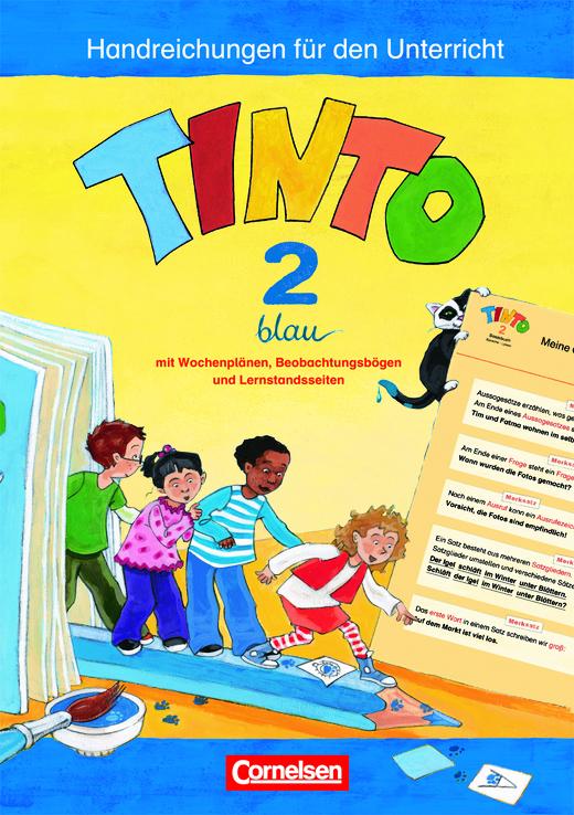 Tinto Sprachlesebuch 2-4 - Handreichungen für den Unterricht - 2. Schuljahr: Blaue JÜL-Ausgabe