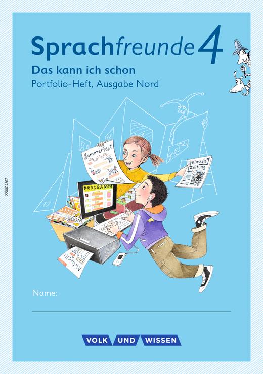Sprachfreunde - Lernentwicklungsheft - 4. Schuljahr