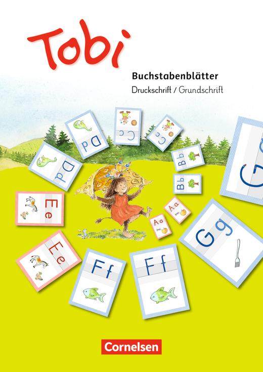 Tobi - Buchstabenblätter Druckschrift/Grundschrift