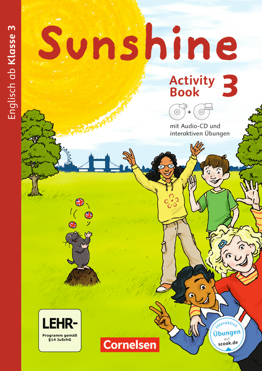 Sunshine - Activity Book mit interaktiven Übungen auf scook.de - 3. Schuljahr