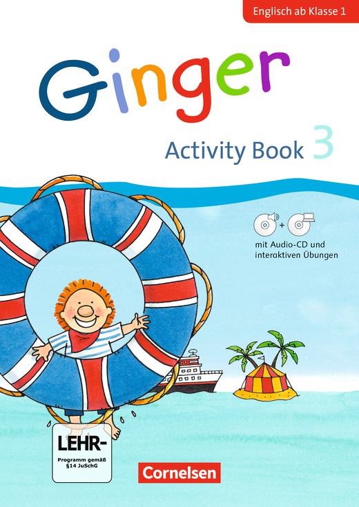 Ginger - Activity Book mit interaktiven Übungen auf scook.de - 3. Schuljahr