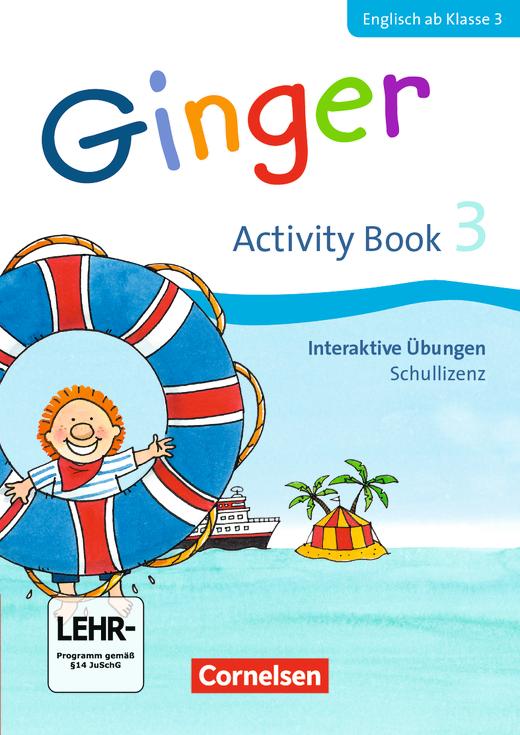 Ginger - Interaktive Übungen als Ergänzung zum Activity Book - 3. Schuljahr